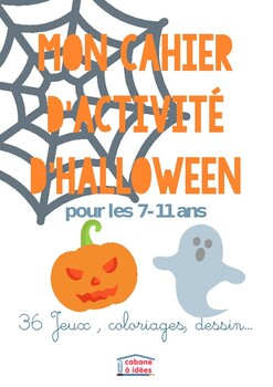 Halloween activity pack - 7-11 years old