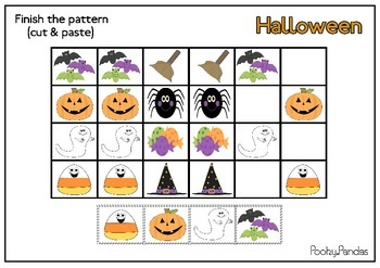 Halloween activity packet (colored)
