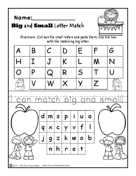 Halloween and Back to School NO PREP Literacy Pack