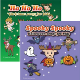 Halloween and Christmas Songs Bundle