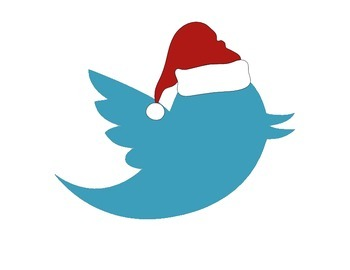 Halloween and Christmas Twitter Exit Slip Board