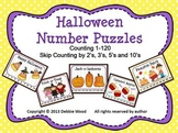 Halloween and Fall Counting Puzzles