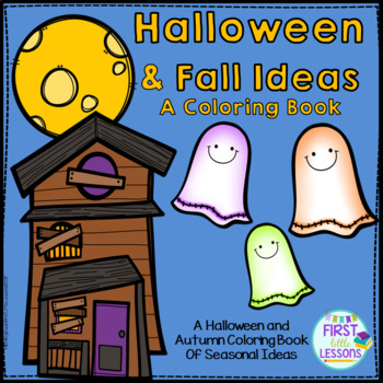 Halloween and Fall Ideas Coloring Book