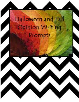 Halloween and Fall Opinion Writing