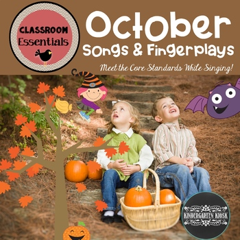 Halloween and Fall Songs and Fingerplays for October