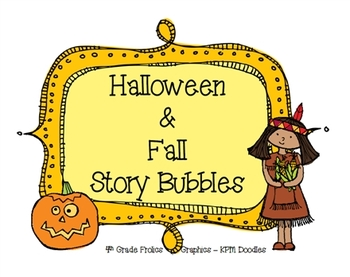 Halloween and Fall Story Bubbles