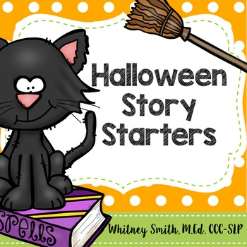 Halloween and Fall Story Starters for Speech Therapy