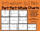 Halloween and Fall Themed Part Part Whole Charts