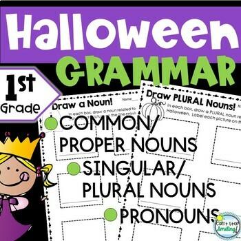 Halloween 1st Grade ~ Halloween Activities