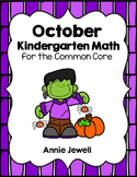 Halloween and October Kindergarten Math