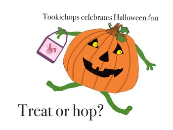Halloween and Tookie Hops Activities and Bulletin BoardsA