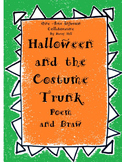 Halloween and the Costume Trunk Poem and Draw