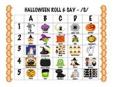 Halloween articulation dice game