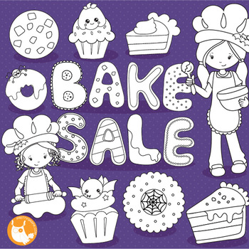 Halloween baking stamps,  commercial use, vector graphics, images  - DS1025
