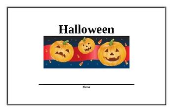 Halloween beginning reader (Hard version)