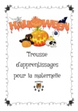 Halloween big pack activities - trousse d'apprentissages h