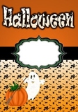 Halloween binder (English and Norwegian)