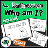 Free Halloween booklet coloring activity