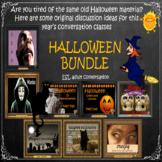 Halloween bundle - ESL Adult English conversation power-point