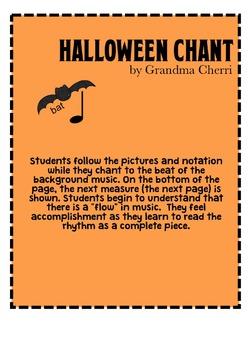Halloween chant rhythm #2