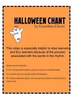 Halloween chant rhythm #2