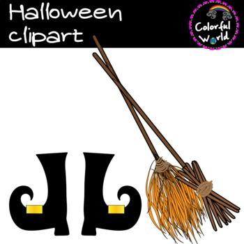 Halloween clipart-set 1