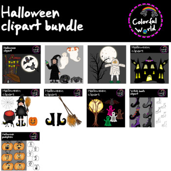 Halloween clipart-bundle