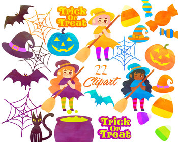 Halloween clipart,  for personal and commercial use