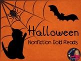 Halloween comprehension nonfiction cold reads  Bats, pumpk