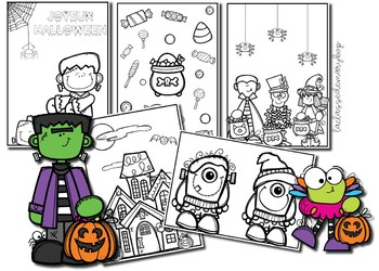 Halloween coloriages - Coloring Pages