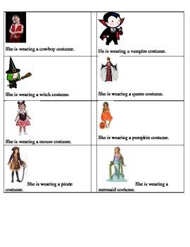 Halloween costume pronouns