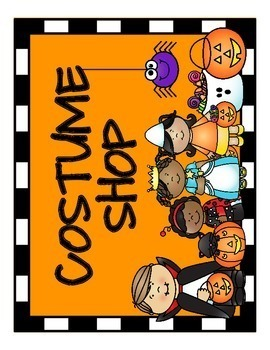 Halloween Costume Shop Dramatic Play