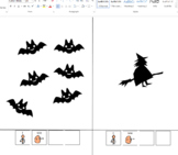 Halloween counting and matching book