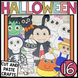 Halloween crafts Bundle   Pumpkin   Mummy   Witch   Vampir