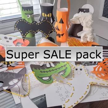 Halloween crafts activities SUPER SALE activity pack FREE