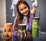 Halloween crafts activities lanterns and FREE fact sheet coloring pages