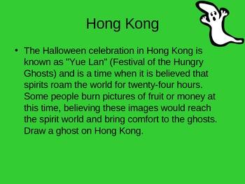 Halloween customs around the world geography
