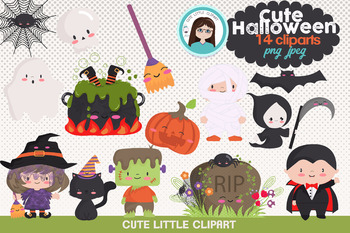 Halloween cute clipart