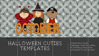 Halloween cuties Templates