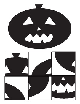 Halloween cutting exercise and kid pix job cards