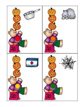 Halloween cvc words
