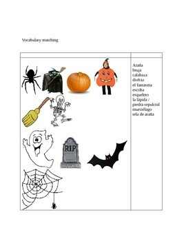 Halloween: dia de Brujas (Spanish worksheets)