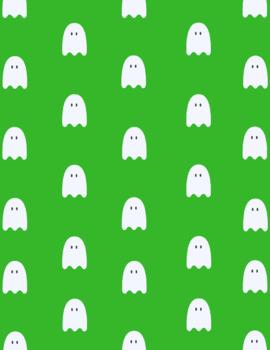 Halloween digital paper FREEBIE!