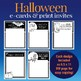 Halloween customizable e-cards, invites and flyers in colo