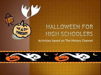 Halloween for High Schoolers