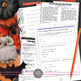 "Halloween Lesson for Teens, Short Story ""Cemetery Path"" & Paired Info Text"