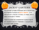 Halloween for children and vocabulary