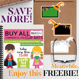 Halloween free clip art and Buy All sale