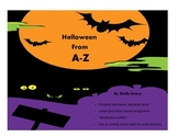 Halloween from A-Z Booklet