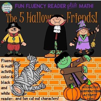 Fun Halloween Fluency Reader